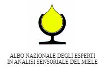 Albo nazionale degli esperti in analisi sensoriale del miele